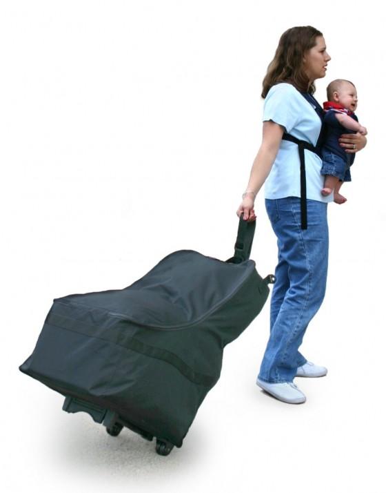 car seat travel bag, J.L. Childress travel bag, JL childress