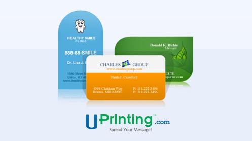 Uprinting.com, Uprinting, die cut business cards, business cards for moms, mom entrepeneurs, mom blog giveaways