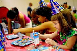 HippoHopp offers healthy food and fun for children's birthday parties in Atlanta
