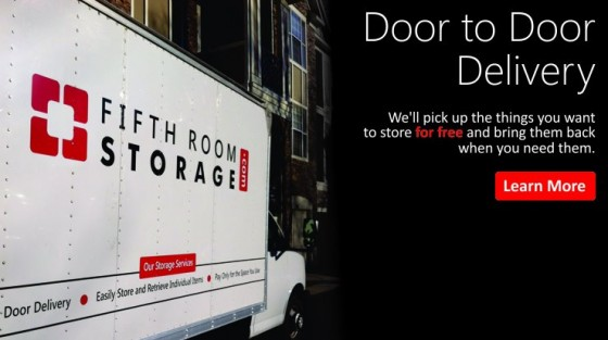 Fifth Room Storage truck, Fifth Room Storage, Atlanta storage, Atlanta self storage