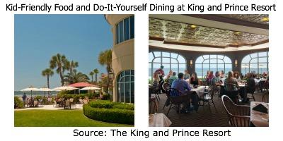 The King and Prince Resort, King and Prince Dining, St. Simons Island Restaurants, St. Simons restaurant