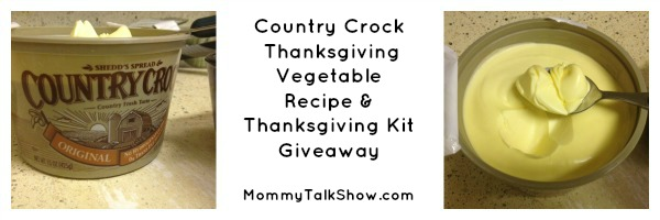 Country Crock Recipe Giveaway, Country Crock, healthy thanksgiving dishes