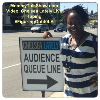 VIDEO: Chelsea Lately Live Taping #FiguringOut40LA