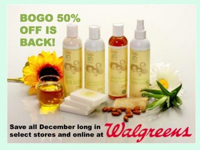 Cara B Naturally BOGO December Sale at Walgreens #MyCaraB ~ MommyTalkShow.com