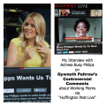 [VIDEO] My Interview with Actress Busy Philips on Gywneth Paltrow's Comments about Working Moms ~ MommyTalkShow.com