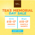 Tea Collection Memorial Day Sale ~ MommyTalkShow.com