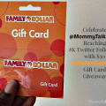 $50 My Family Dollar Giveaway