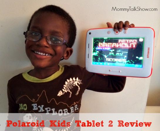 Polaroid Kids Tablet 2 Review ~ MommyTalkShow.com