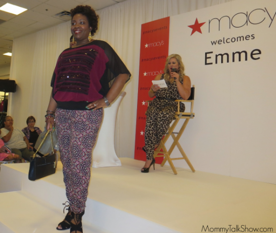 Plus Sized Fall Fashion with Supermodel Emme ~ MommyTalkShow.com