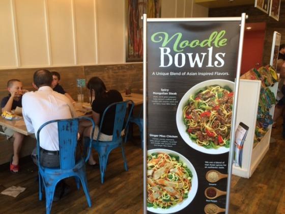 Tropical Smoothie Noodle Bowls