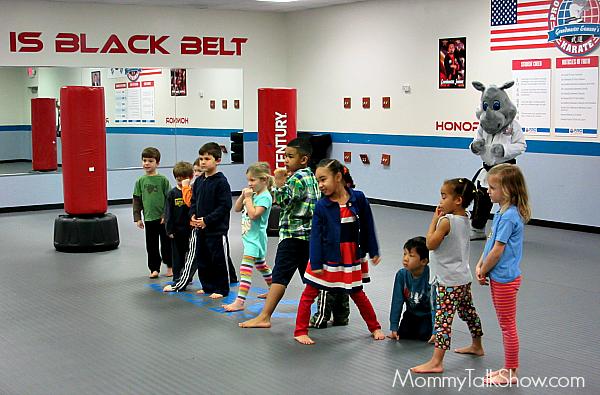 Karate Birthday Party
