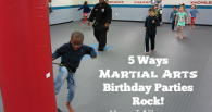 Martial Arts Birthday Parties - Featured