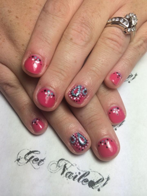 Gel Nails Test: Countdown to the First Chip ~ MommyTalkShow.com
