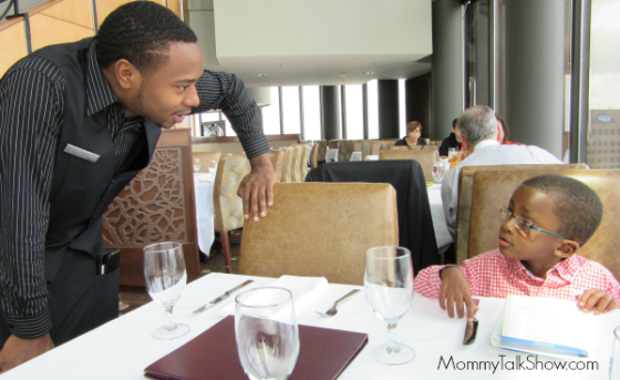 Take a Little One to Lunch at the Sun Dial Restaurant ~ MommyTalkShow.com