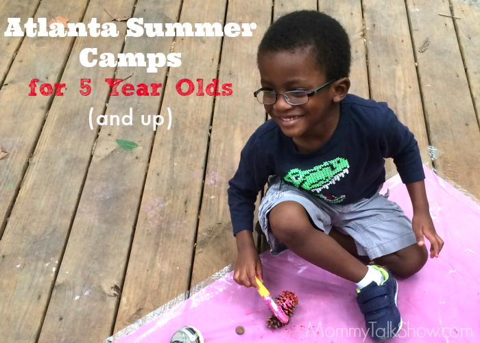 Atlanta Summer Camps for 5 Year Olds