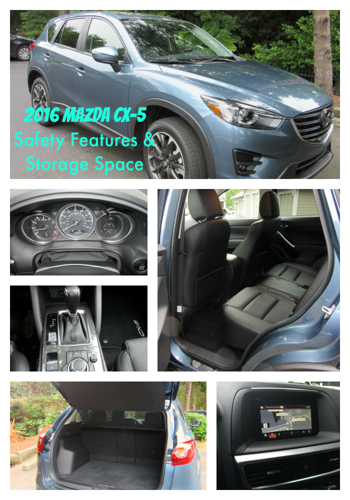 2016 Mazda CX-5 Safety Features