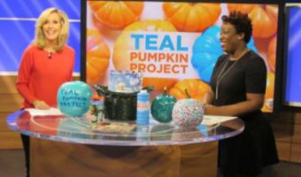"[VIDEO] Teal Pumpkin Project Halloween Ideas on CBS 46 ""Atlanta Plugged In"