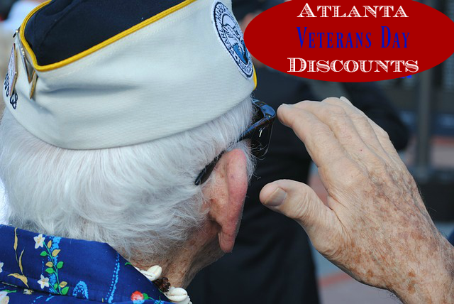 Veterans Day Discounts in Atlanta