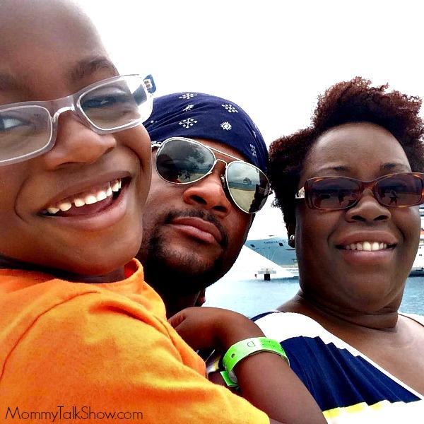 Family Cruise Photo