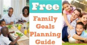 Family Goals Planner {Free Printable}