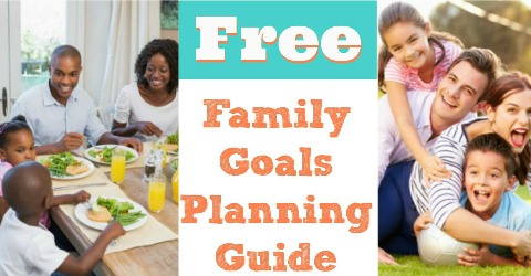 Family Goals Planner {Free Printable}