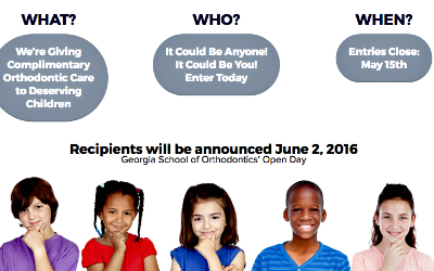 Nominate a Georgia Child for Free Braces: May 15, 2016 Deadline