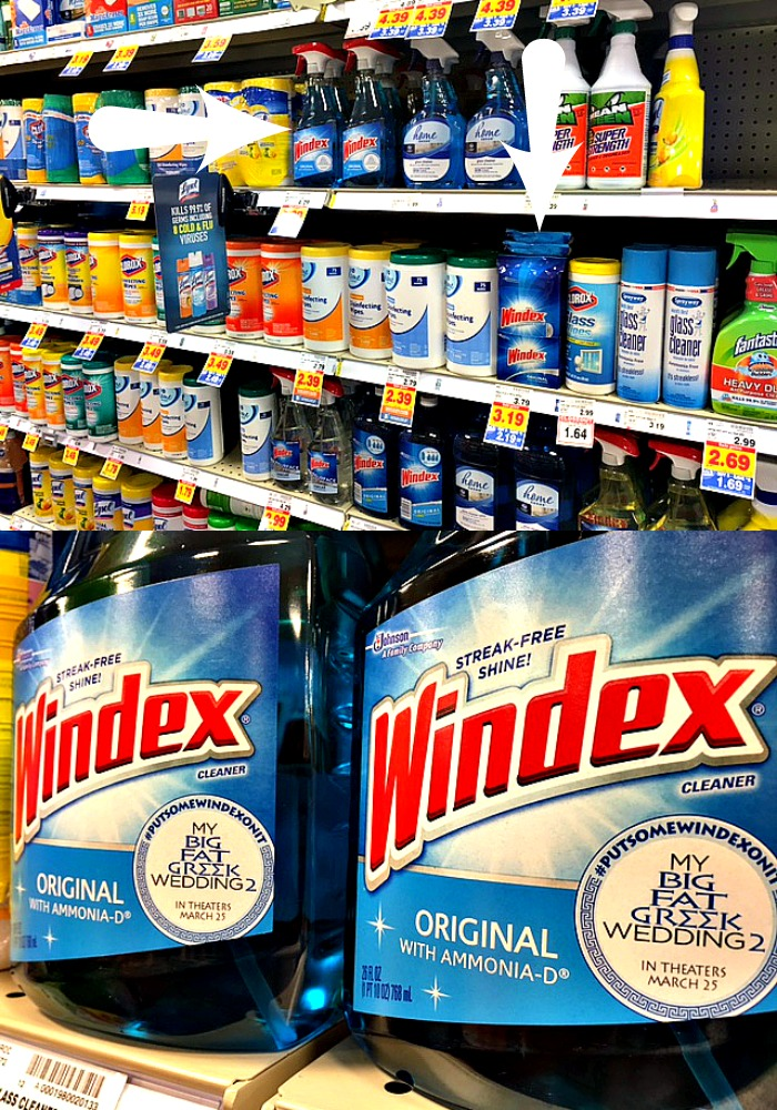 Windex in Kroger
