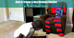How to Create a Bedtime Routine in Your New Home #RestEasyWithCVS #AD