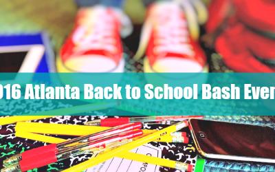 2016 Atlanta Back to School Bash Events