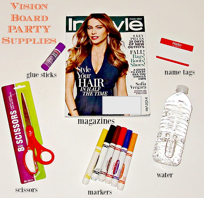 Vision Board Party Supplies