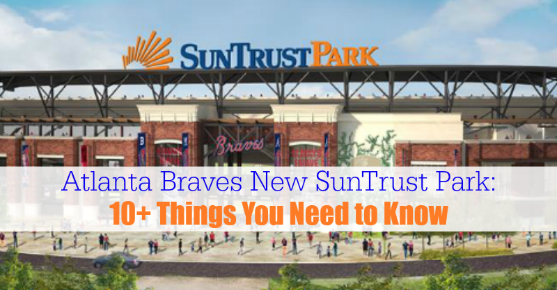 Atlanta Braves New SunTrust Park
