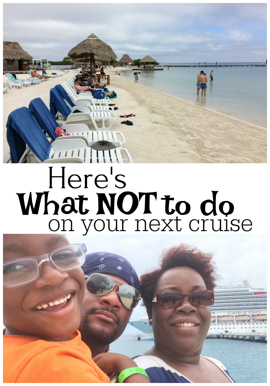 Here's What NOT to do on your next cruise
