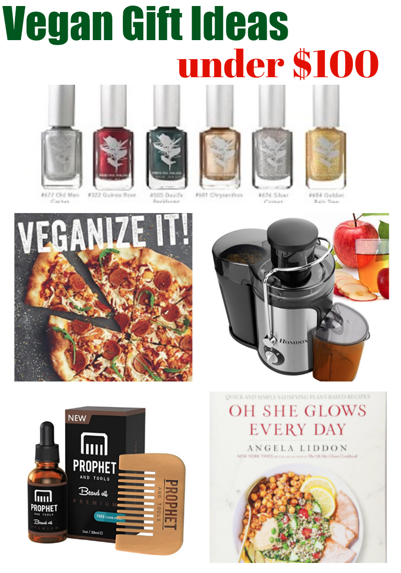 Vegan Gift Ideas Under $100