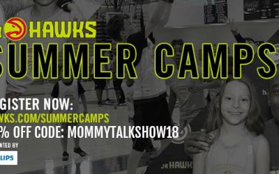 Atlanta Jr. Hawks Basketball Camp Giveaway + Savings Code to Register