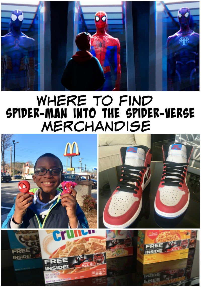 Here's Where You Can Find Spider-Man: Into the #Spiderverse Merchandise