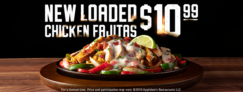 Date Night Fajitas at Applebees